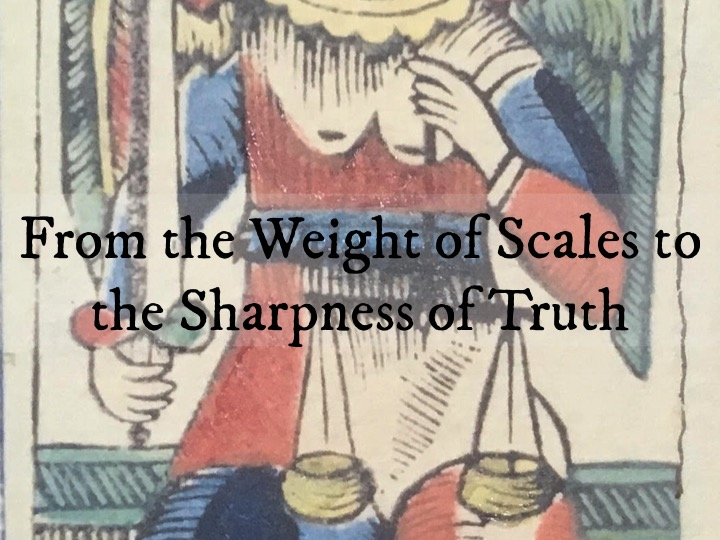 From the Weight of Scales to the Sharpness of Truth